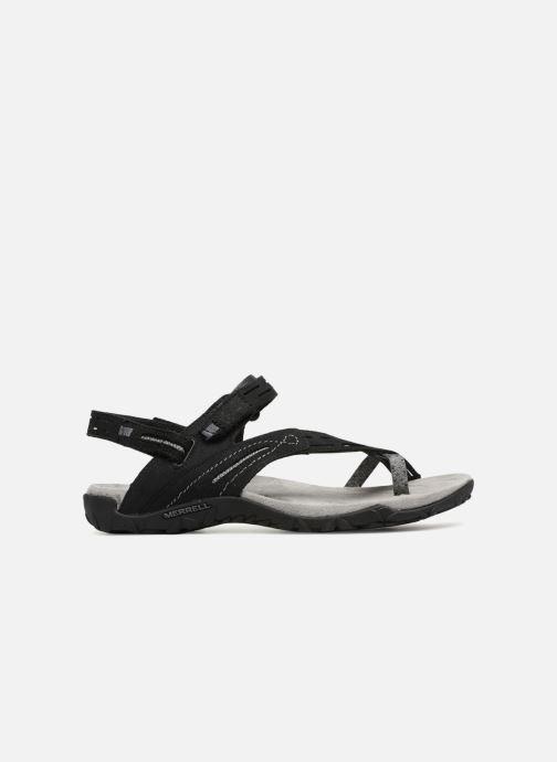 Chaussures de sport Merrell Terran Convert II Noir vue derrière