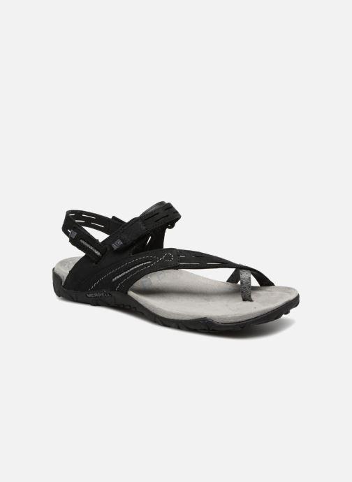 Chaussures de sport Merrell Terran Convert II Noir vue détail/paire