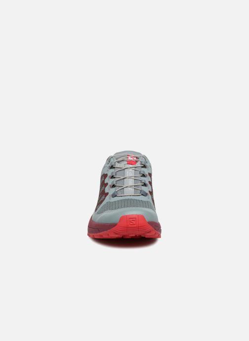 Scarpe sportive Salomon Xa Elevate W Azzurro modello indossato