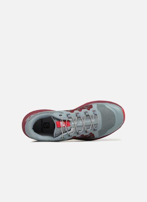 Chaussures de sport Salomon Xa Elevate W Bleu vue gauche