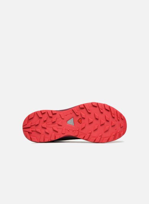Chaussures de sport Salomon Xa Elevate W Bleu vue haut