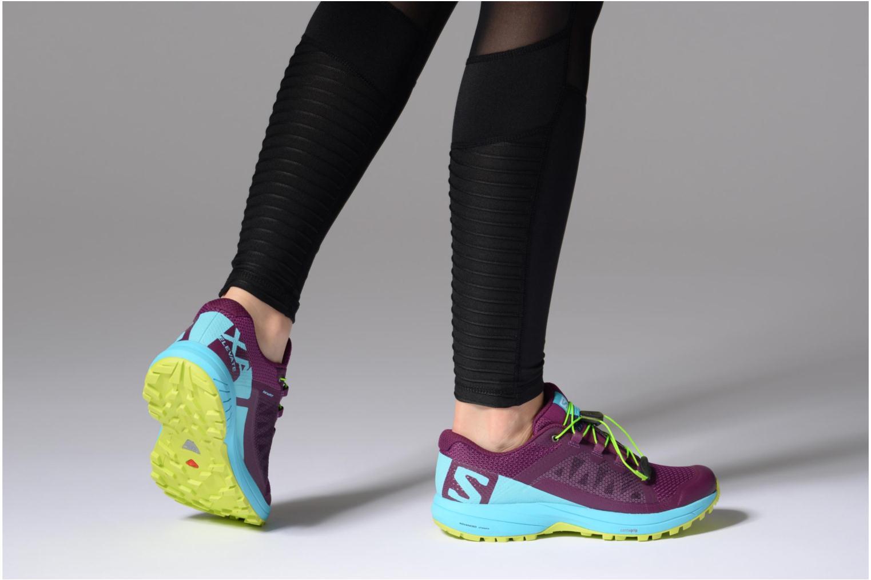 Chaussures de sport Salomon Xa Elevate W Multicolore vue bas / vue portée sac