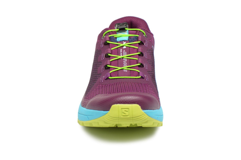 Chaussures de sport Salomon Xa Elevate W Multicolore vue portées chaussures