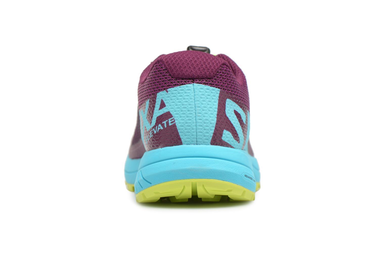 Chaussures de sport Salomon Xa Elevate W Multicolore vue droite