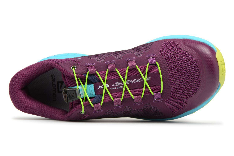 Chaussures de sport Salomon Xa Elevate W Multicolore vue gauche