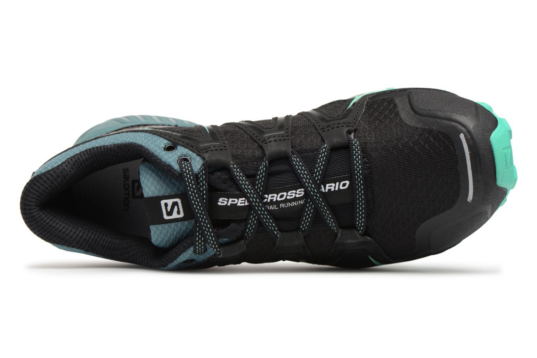 Chaussures de sport Salomon Speedcross Vario 2 W Noir vue gauche