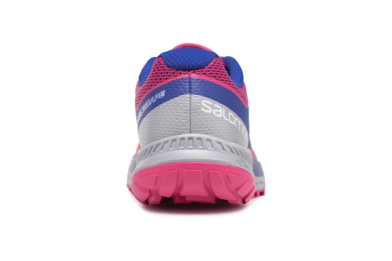 Chaussures de sport Salomon Sense Escape W Rose vue droite