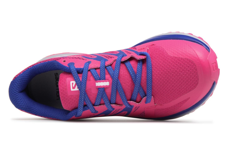 Chaussures de sport Salomon Sense Escape W Rose vue gauche