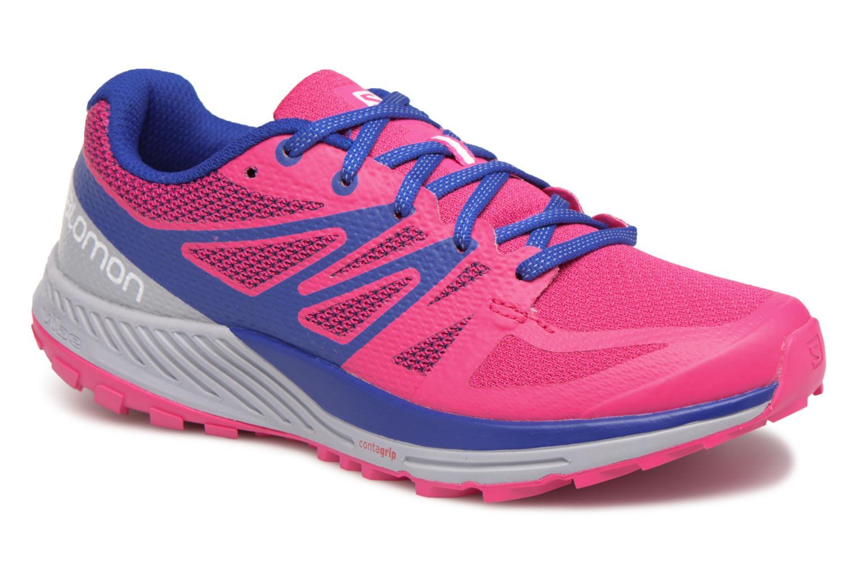 Chaussures de sport Salomon Sense Escape W Rose vue détail/paire