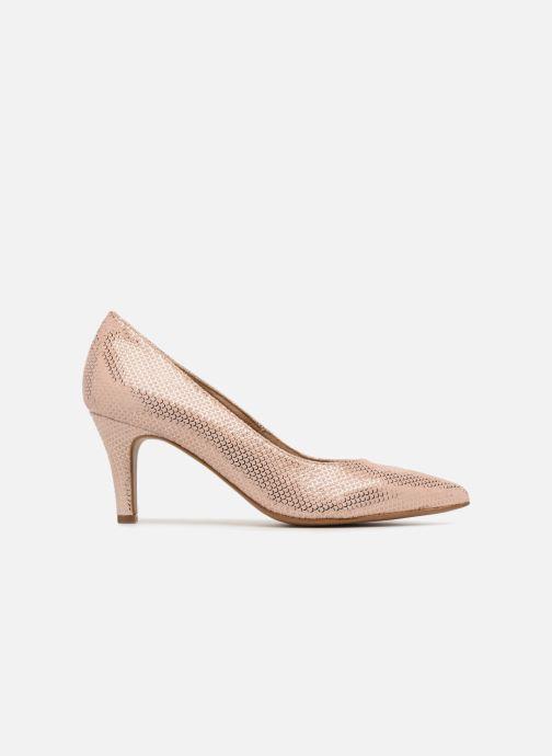 Zapatos de tacón Tamaris Oeillette Rosa vistra trasera