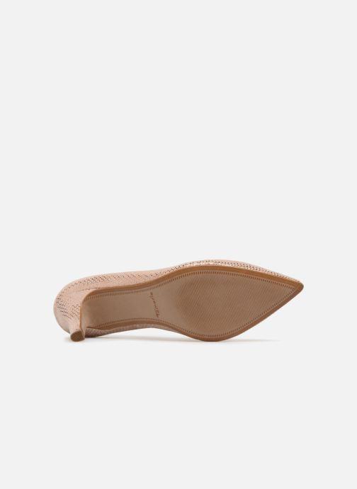 Zapatos de tacón Tamaris Oeillette Rosa vista de arriba