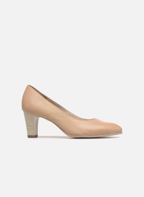 High heels Tamaris Pavot Beige back view
