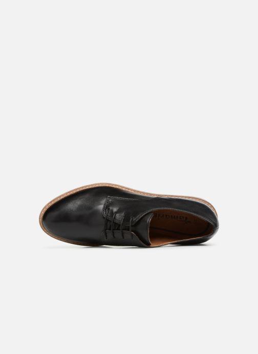 Tamaris Absinthe Black Leather Leather Tamaris Black Absinthe 7b6gfYy