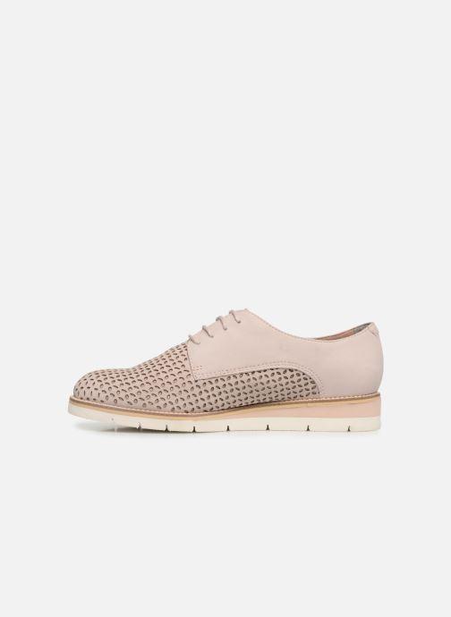 Zapatos con cordones Tamaris Absinthe Rosa vista de frente