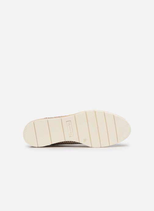 Zapatos con cordones Tamaris Absinthe Rosa vista de arriba