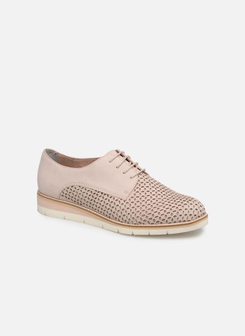 Zapatos con cordones Tamaris Absinthe Rosa vista de detalle / par
