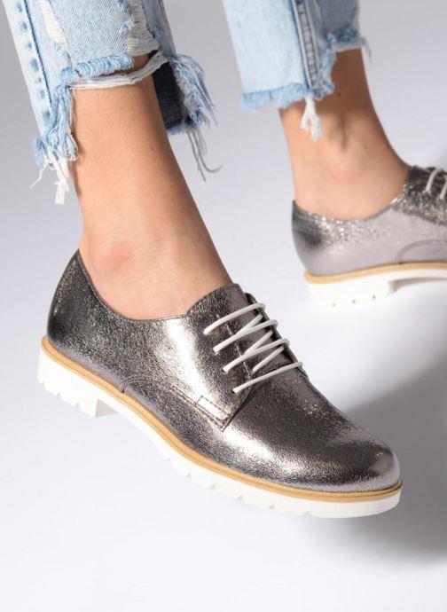 Zapatos con cordones Tamaris Combava Negro vista de abajo