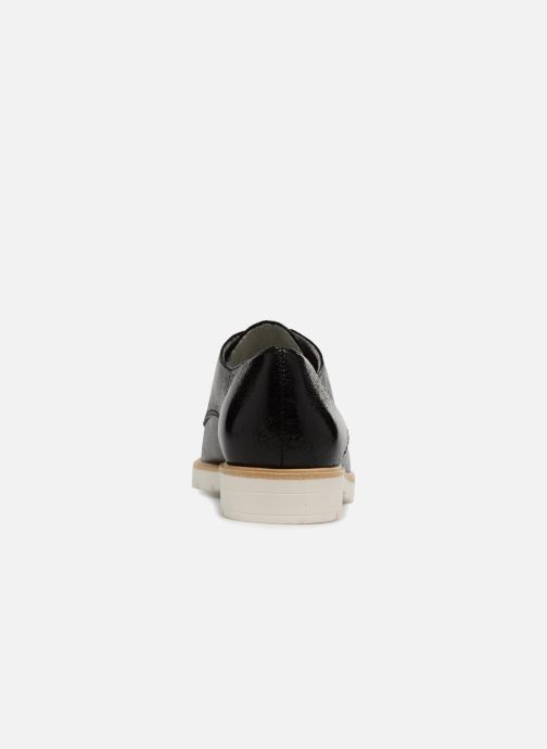 Zapatos con cordones Tamaris Combava Negro vista lateral derecha