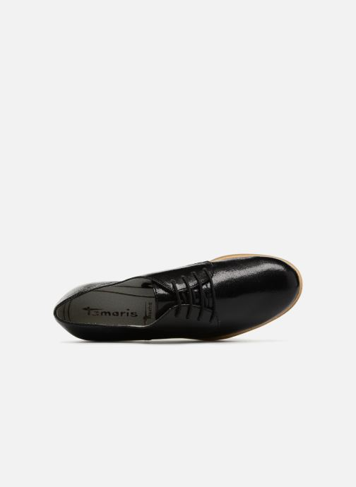 Zapatos con cordones Tamaris Combava Negro vista lateral izquierda