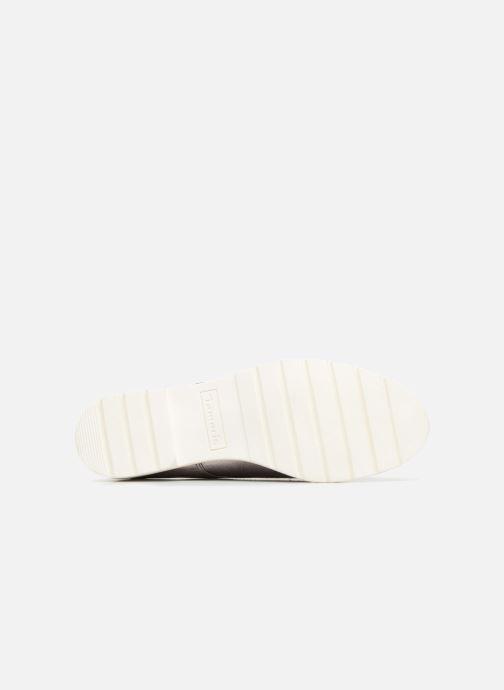 Schnürschuhe Tamaris Combava silber ansicht von oben