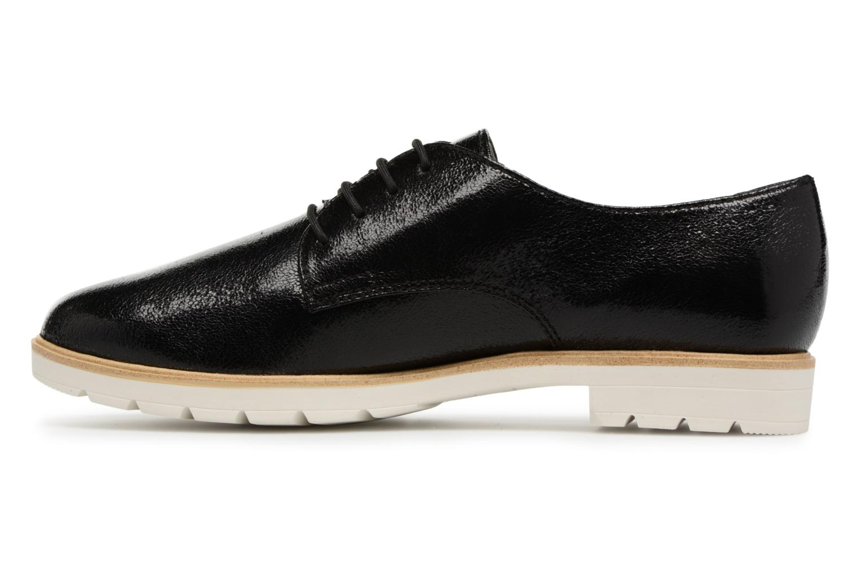 Chaussures à lacets Tamaris Combava Noir vue face