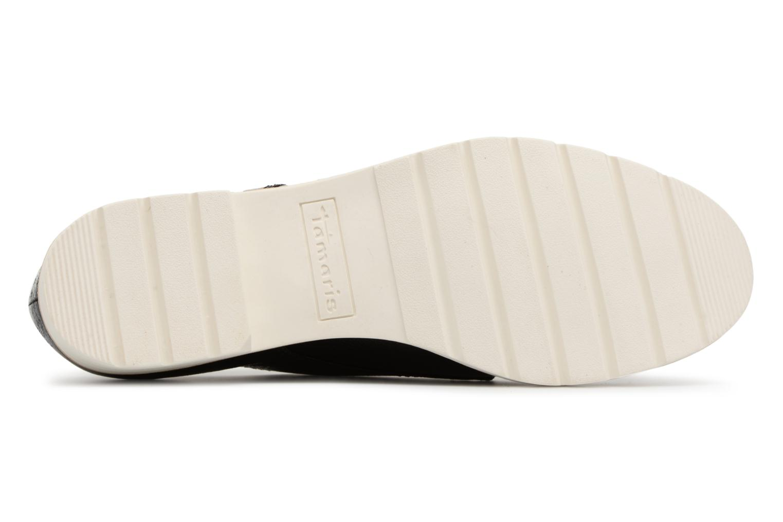Chaussures à lacets Tamaris Combava Noir vue haut