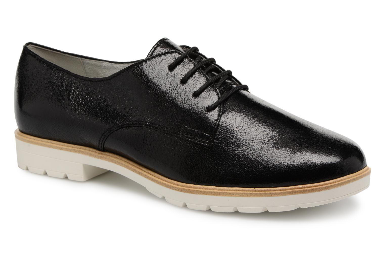 Chaussures à lacets Tamaris Combava Noir vue détail/paire