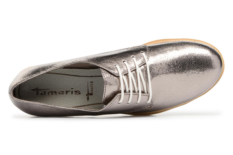 Chaussures à lacets Tamaris Combava Argent vue gauche