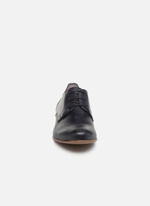 Chaussures à lacets Tamaris Coriandre Bleu vue portées chaussures