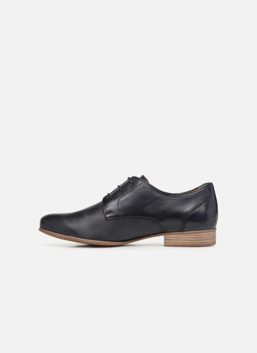 Chaussures à lacets Tamaris Coriandre Bleu vue face