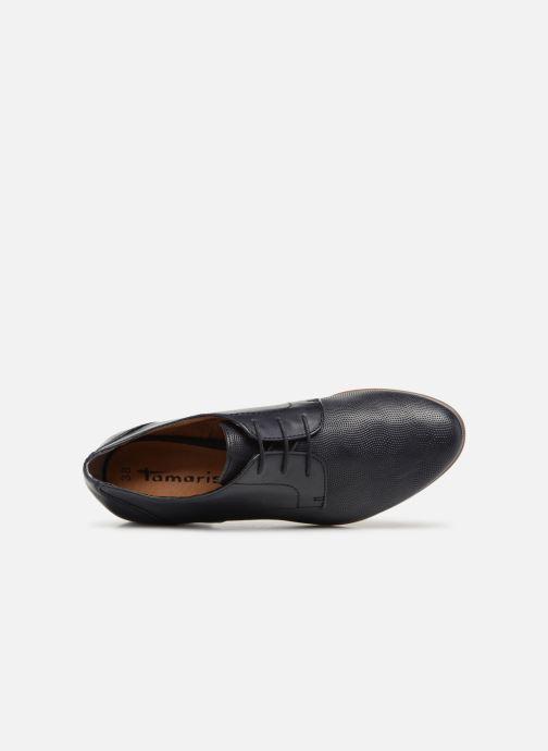 Chaussures à lacets Tamaris Coriandre Bleu vue gauche