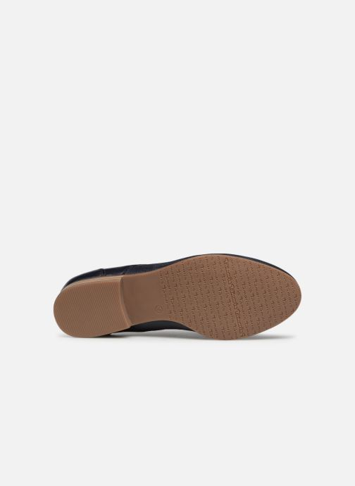 Chaussures à lacets Tamaris Coriandre Bleu vue haut