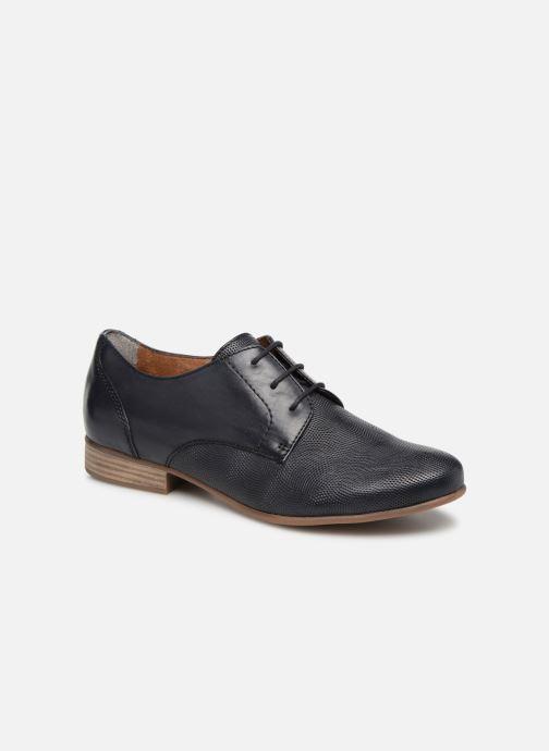 Chaussures à lacets Tamaris Coriandre Bleu vue détail/paire