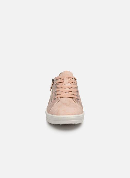 Baskets Tamaris Genièvre Rose vue portées chaussures