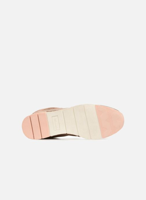 Baskets Tamaris Badiane Rose vue haut