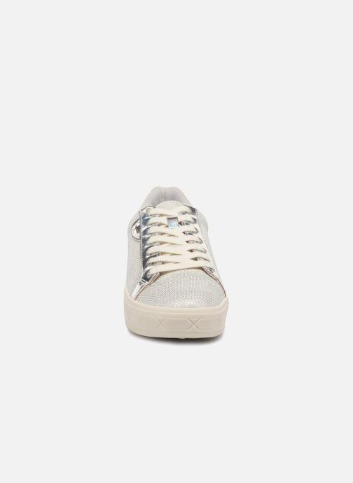Baskets Tamaris Citronnelle Blanc vue portées chaussures