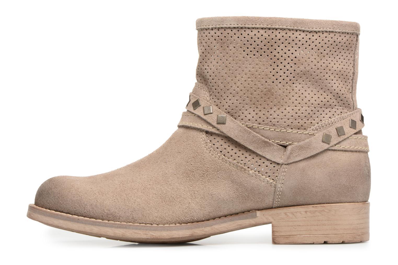 Bottines et boots Tamaris Chicorée Marron vue face