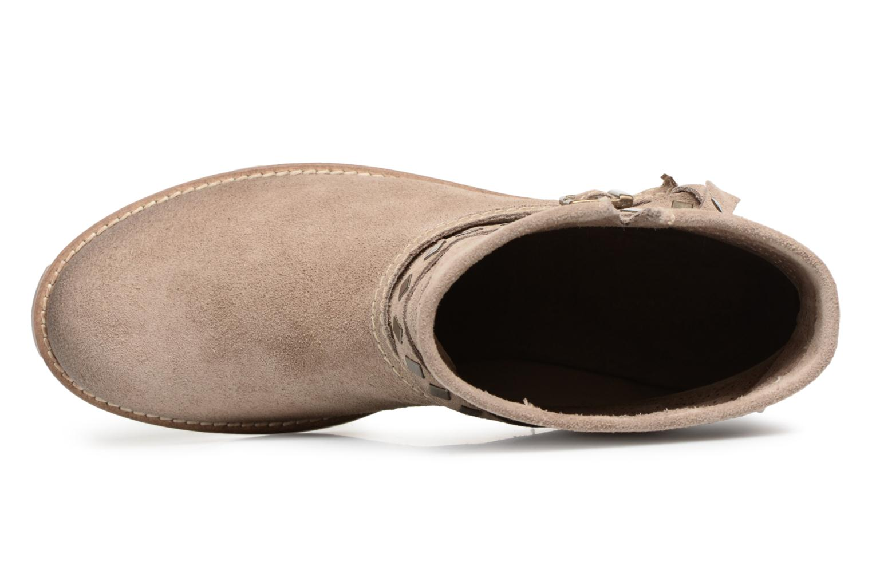 Bottines et boots Tamaris Chicorée Marron vue gauche