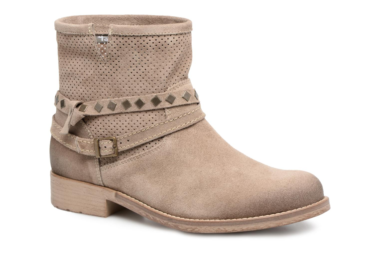 Bottines et boots Tamaris Chicorée Marron vue détail/paire