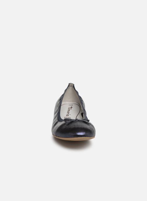 Ballerina Tamaris Epazote Blå bild av skorna på