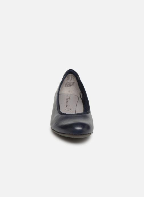 Ballerines Tamaris Curry Bleu vue portées chaussures
