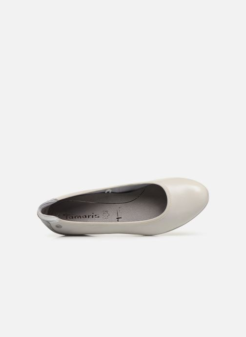 Ballerines Tamaris Curry Gris vue gauche