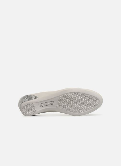 Ballerines Tamaris Curry Gris vue haut