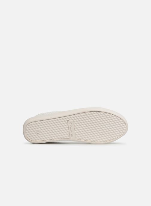 Sneaker Tamaris Cerfeuil weiß ansicht von oben