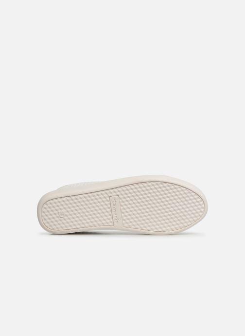 Baskets Tamaris Cerfeuil Blanc vue haut
