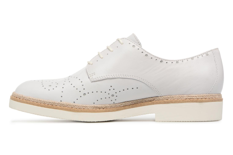 Chaussures à lacets Tamaris Cardamome Blanc vue face