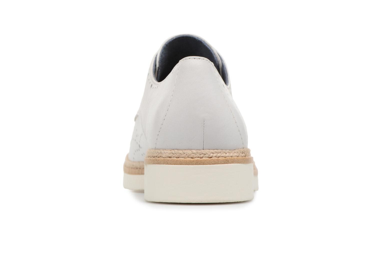 Chaussures à lacets Tamaris Cardamome Blanc vue droite