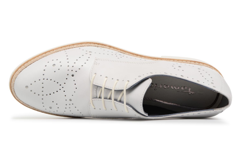 Chaussures à lacets Tamaris Cardamome Blanc vue gauche