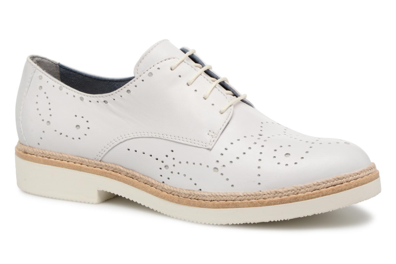Chaussures à lacets Tamaris Cardamome Blanc vue détail/paire