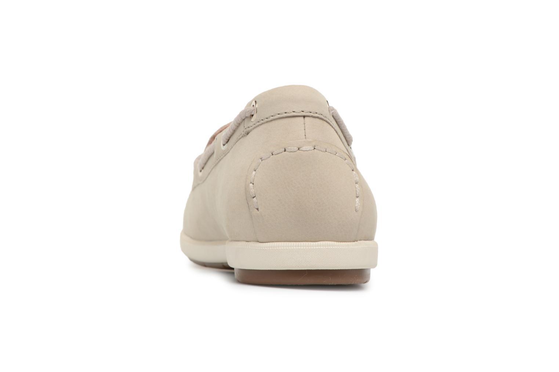 Chaussures à lacets Tamaris Kili Beige vue droite